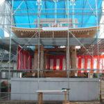 正樹院 鐘楼堂再建工事